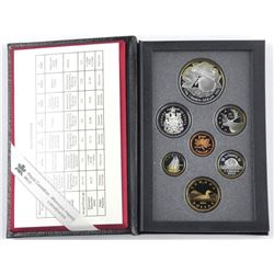 1996 RCM Proof Set 925 Sterling Silver