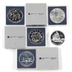 Lot (5) BU - Silver Dollars