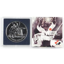 1997 BU Dollar - 25 Years Hockey Canada - Silver