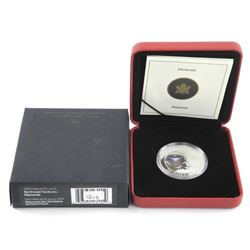 2004 .9999 Fine Silver $20.00 Coin NWT Diamonds (I