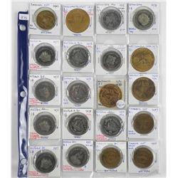 Estate Lot (20) Trade Dollars Identified