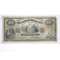 Bank of Nova Scotia Jan 1935 - Ten Dollar Note