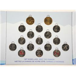 RCM Vancouver Olympics Coin Set, 2 Special Issue L