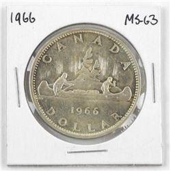 1966 Canada Silver Dollar MS63.