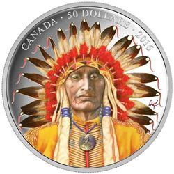 2016 $50 Wanduta: Portrait of a Chief - 5-oz. Pure