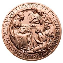 1867 Confederation Medal Re-strike - Bronze Piece