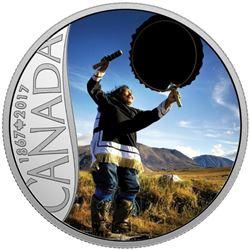2017 $10 Celebrating Canada's 150th: Drum Dancing