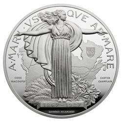 1927 Confederation Medal Re-strike - 10 oz. Pure S