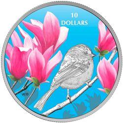 2017 $10 Birds Among Nature's Colours: Chickadee -