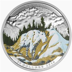 2016 $20 Landscape Illusion: Mountain Goat - Pure