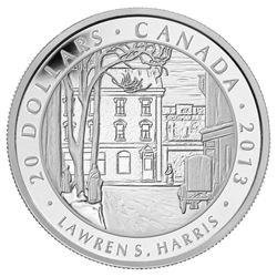 2013 $20 Group of Seven: Lawren S. Harris, Toronto
