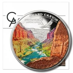 Spectacular Landscapes - Grand Canyon. .925 Silver