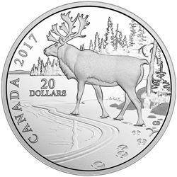 2017 $20 Nature's Impressions: Woodland Caribou -