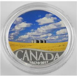 2017 $10 Celebrating Canada's 150th: Canola Field