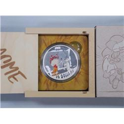 RCM / Warner Bros 'Looney Tunes' $30.00 Coin .9999