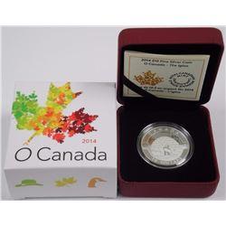 $10 - 2014 The Igloo - O Canada .9999 Fine Silver.