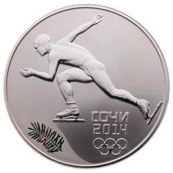 2014 3 Roubles Sochi Winter Olympics: Speed Skatin