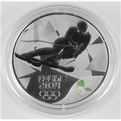 2014 3 Roubles Sochi Winter Olympics: Alpine Skiin