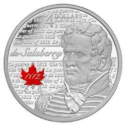 2012 $4 Heroes of 1812: Sir Isaac Brock - Pure Sil