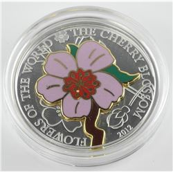 2012 $5 Flowers of the World: The Cherry Blossom (