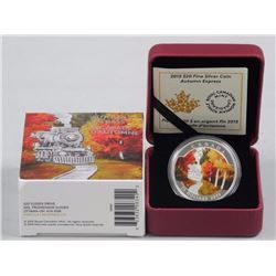 2015 - $20 Autumn Express .9999 Fine Silver.