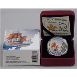RCM Issue: Fine Silver Lost Ships in Canadian Wate