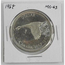 1967 Canada Silver Dollar MS63
