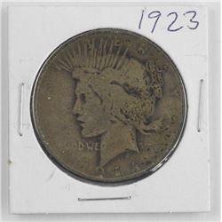 1923 USA Peace Dollar