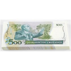 Banco Central Do Brasil - 500 Cruzeiros - Original