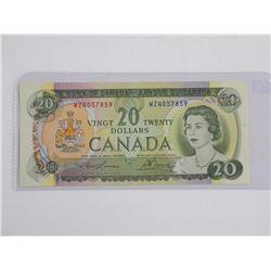 Bank of Canada 1969 20.00 'AU'