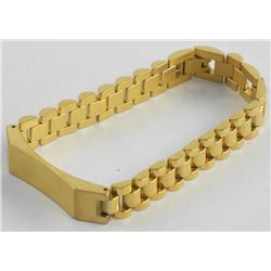 Gents 18kt Gold Plated Heavy ID Bracelet