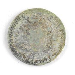 "1780x Silver Thaler Coin ""Restrike"""