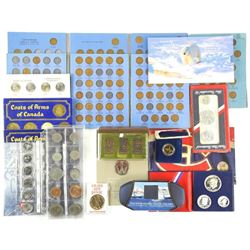 Estate Bin Lot - Mixed Coins, Mint Sets, Special I