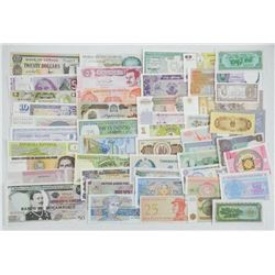 Bank Note Collection 50 Notes - 50 Different Count