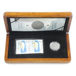 RCM 'The Proud Polar Bear' 2.00 LE Stamp and Coin