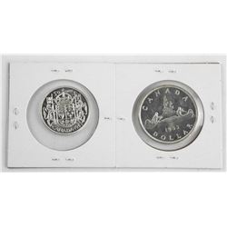 Lot 1953 Silver Dollar & Matching Half Dollar.