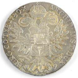 Maria Theresa 1780x Silver Thaler Restrike
