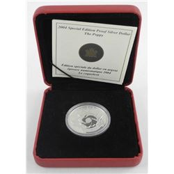 2004 Special Edition Proof Silver Dollar - Poppy.