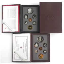 Lot (2) RCM Proof Coin Set, 1995 and 1995 RB Speci
