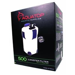 Aquatop CF500UV 5-Stage Canister Filter with UV 9W