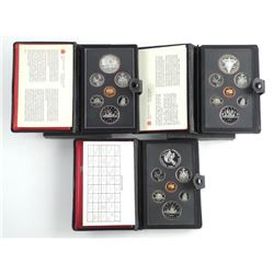 Lot (3) RCM Proof Coin Sets: 1981, 1982, 1983