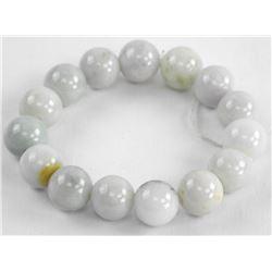 Burma Jade - Bead Bracelet