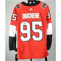 M. Duchene PRO Senators Jersey. Signed with C.O..A