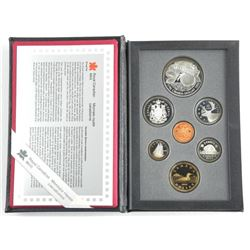 1996 RCM Proof Coin Set, 925 Sterling