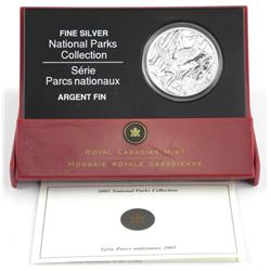 2005 .9999 Fine Silver $5.00 Special Edition Proof