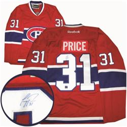 Carey Price (Mont) Jersey Signed w/coa.
