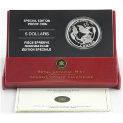 2005 Special Edition Proof $5.00 .9999 Fine Silver