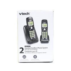 Vtech Dect 6.0 2-Handset Cordless Phone System wit
