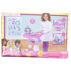 Just Play Barbie Pet Care Cart Doll