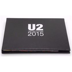 U2 2015 VIP Tour Book with Memorabilia RARE.
